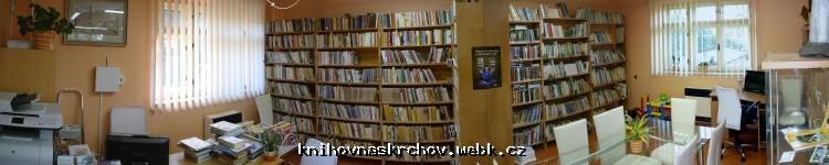 Obrázek panorama - Interiér knihovny